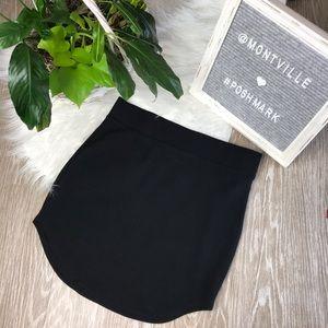 Black Mini Skirt Size Medium Forever 21